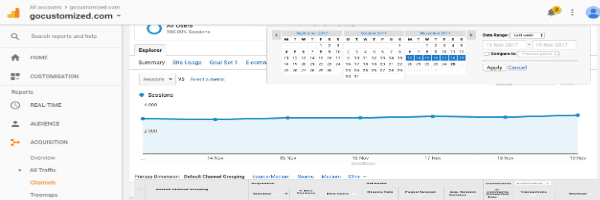 Google Analytics: How to analyze week by week your SEO results